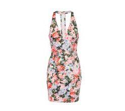 GUESS Kleid 'AMALIA' mischfarben / weiß