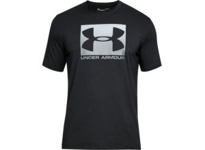 UNDER ARMOUR Herren Shirt UA Boxed Sportstyle - schwarz 2XL