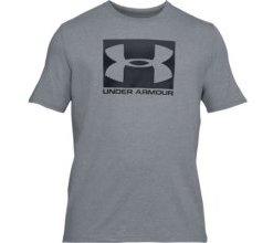 UNDER ARMOUR Herren Shirt UA Boxed Sportstyle - grau S