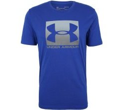 UNDER ARMOUR T-Shirt 'BOXED SPORTSTYLE' blau