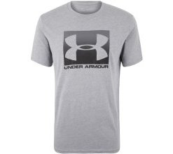 UNDER ARMOUR T-Shirt 'BOXED SPORTSTYLE' grau