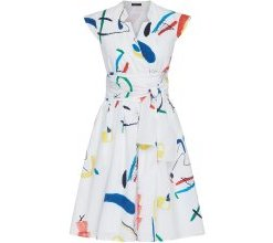 APART Wickelkleid mit blickdichtem Futter weiß