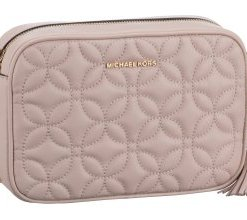 Michael Kors Umhängetasche Ginny Medium Camera Bag Flora Quilted Soft Pink