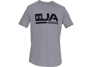 Under Armour SPORTSTYLE Funktionsshirt Herren in gray, Größe: S