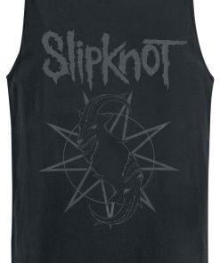 Slipknot Goat Star Logo Tank-Top schwarz