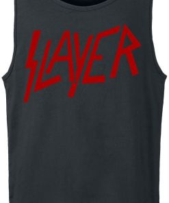 Slayer Logo Tank-Top schwarz