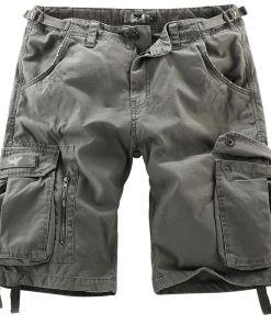 Black Premium by EMP Army Vintage Shorts Vintage Shorts oliv