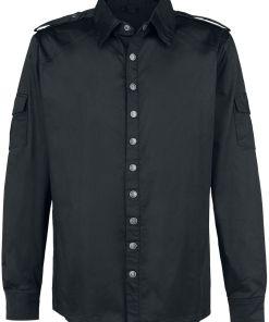 Gothicana by EMP Counterplay Hemd schwarz