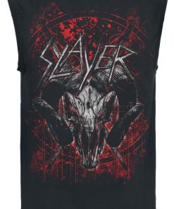 Slayer Mongo Goat Tank-Top schwarz