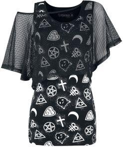 Gothicana by EMP Got My Mind Set On You Girl-Shirt schwarz