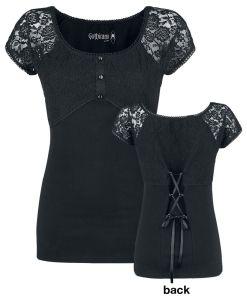 Gothicana by EMP Eternally Yours Girl-Shirt schwarz