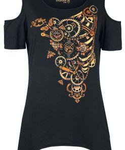 Gothicana by EMP You Really Got Me Girl-Shirt schwarz