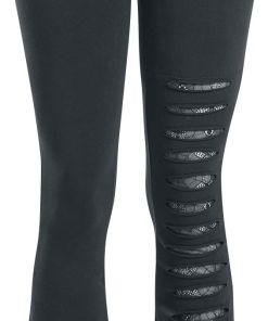 Gothicana by EMP Take Comfort Leggings schwarz