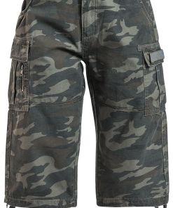 Black Premium by EMP Army Vintage Shorts Girl-Shorts camouflage