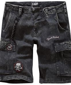 Rock Rebel by EMP Garageland Shorts schwarz