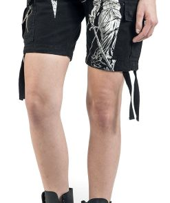 Metallica EMP Signature Collection Girl-Shorts schwarz