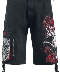 Slayer EMP Signature Collection Shorts schwarz