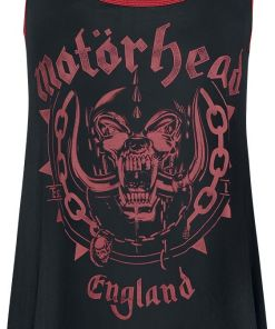 Motörhead EMP Signature Collection Girl-Top schwarz/rot