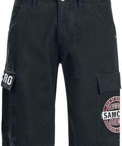 Sons Of Anarchy Redwood Original Cargo-Shorts schwarz