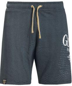 Guinness Harfe Shorts schwarz