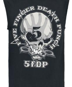 Five Finger Death Punch One Two Tank-Top schwarz