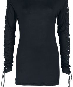 Gothicana by EMP Here To Stay Girl-Longsleeve schwarz