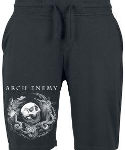 Arch Enemy Will To Power Shorts schwarz