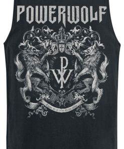 Powerwolf Crest Tank-Top schwarz