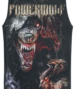 Powerwolf TSOS - Wolf Tank-Top schwarz