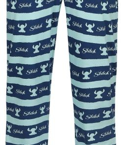 Lilo and Stitch Stitch Stripes Pyjama-Hose multicolor