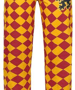 Harry Potter Griffindor Pyjama-Hose gelb/rot