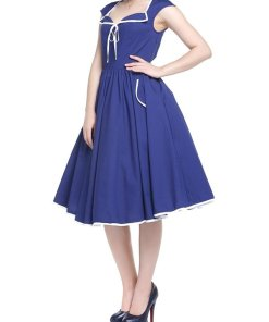 Diner Dress Blau