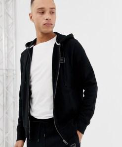 BOSS - Znacks - Schwarzes Sweatshirt mit Kapuze
