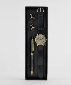 Limit - Geschenkset mit Kunstleder-Armbanduhr