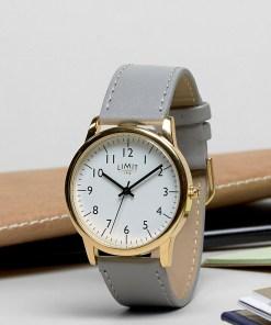 Limit - Armbanduhr mit grauem Band