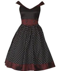 Sailor Styled Dress Black