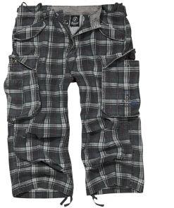 Brandit Industry Vintage 3/4 Vintage Shorts dunkelgrau