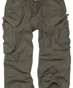 Brandit Industry Vintage 3/4 Vintage Shorts oliv