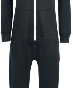 Urban Classics Ladies Sweat Jumpsuit Jumpsuit schwarz