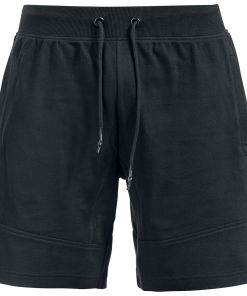 Urban Classics Interlock Sweatshorts Shorts schwarz