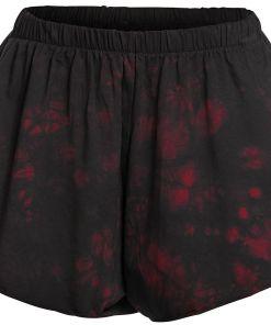 Forplay Dyed Beach Short Girl-Shorts schwarz/rot