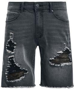 Doomsday Camo Inside Shorts schwarz