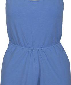 Urban Classics Ladies Short Spaghetti Jumpsuit Jumpsuit blau