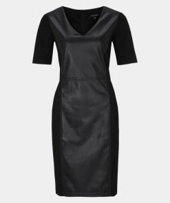 Abendkleid Grau/Schwarz 28