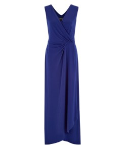 Abendkleid Blau 2