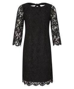 Abendkleid Grau/Schwarz 23
