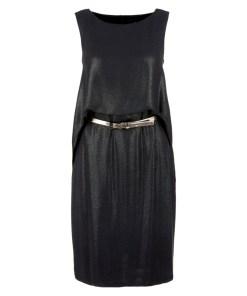 Abendkleid Grau/Schwarz 24
