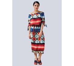 Damen Kleid Alba Moda bunt