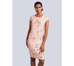Damen Kleid Alba Moda Rosé
