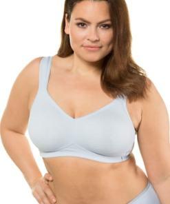 Ulla Popken BH, bügellos, breite Träger, T-Shirt-BH - Große Größen 714154